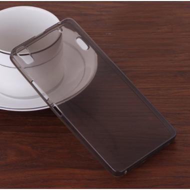 Темный силиконовый чехол (бампер) для Lenovo K3 Note, A7000
